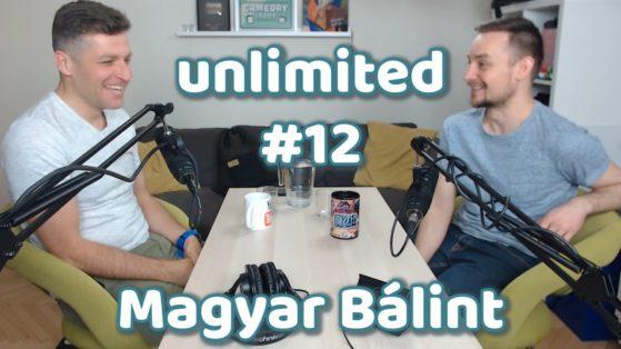 UNLIMITED #12 - MAGYAR BÁLINT #ÉNEKMŰVÉSZET